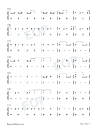 Savage Love-Savage Love Laxed – Siren Beat-Numbered-Musical-Notation-Preview-4