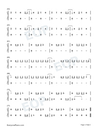 Grace-Lewis Capaldi Numbered Musical Notation Preview 3