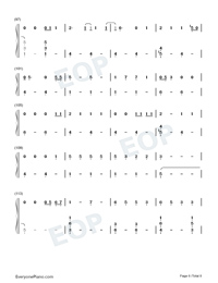 Die a Happy Man-Thomas Rhett Numbered Musical Notation Preview 6
