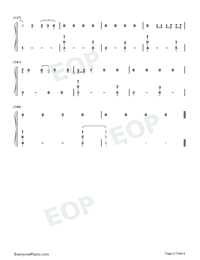 Die a Happy Man-Thomas Rhett Numbered Musical Notation Preview 8