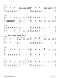 Homo Suites-Original Music-Numbered-Musical-Notation-Preview-5