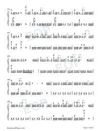 Mama and Papa-Li Ronghao-Numbered-Musical-Notation-Preview-3