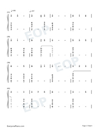 Mom Holding Daughters Hand-Numbered-Musical-Notation-Preview-3