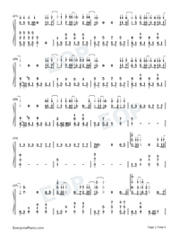 Something Out of the Sky-Numbered-Musical-Notation-Preview-2