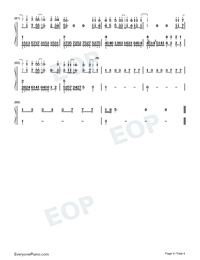 Something Out of the Sky-Numbered-Musical-Notation-Preview-4