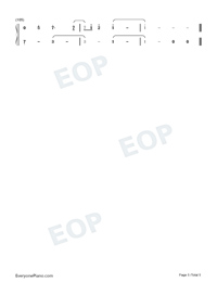 Beautiful Day-SNH48 GROUP-Numbered-Musical-Notation-Preview-5