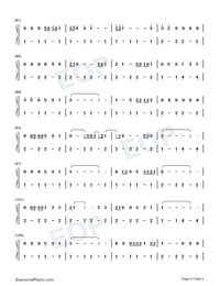 Tennessee Whiskey-Chris Stapleton-Numbered-Musical-Notation-Preview-4