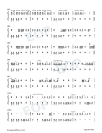Love-Kendrick Lamar-Numbered-Musical-Notation-Preview-4