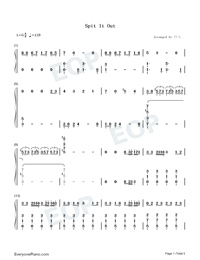 Spit It Out-Solar-Numbered-Musical-Notation-Preview-1