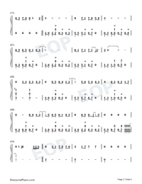Lets Fall in Love for the Night-Finneas-Numbered-Musical-Notation-Preview-2