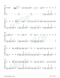 Lets Fall in Love for the Night-Finneas-Numbered-Musical-Notation-Preview-3