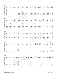 Lets Fall in Love for the Night-Finneas-Numbered-Musical-Notation-Preview-4