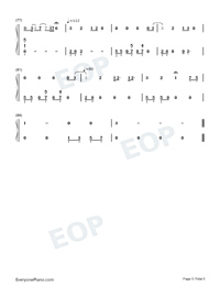 Lets Fall in Love for the Night-Finneas-Numbered-Musical-Notation-Preview-5