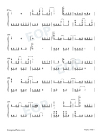 Constant Silence-Perfect Version-Numbered-Musical-Notation-Preview-2
