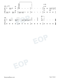 Constant Silence-Perfect Version-Numbered-Musical-Notation-Preview-4