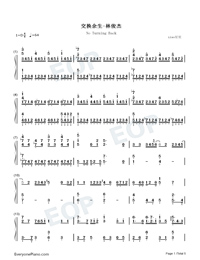 No Turning Back-JJ Lin-Numbered-Musical-Notation-Preview-1
