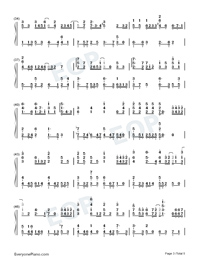 No Turning Back-JJ Lin-Numbered-Musical-Notation-Preview-3