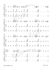 You Will Be Back-Hamilton OST-Numbered-Musical-Notation-Preview-4