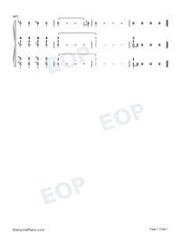 You Will Be Back-Hamilton OST-Numbered-Musical-Notation-Preview-7