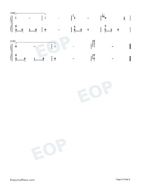 Lovers Heart-Perfect Version-Numbered-Musical-Notation-Preview-6