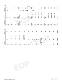 Wishing We Last Forever-Numbered-Musical-Notation-Preview-5
