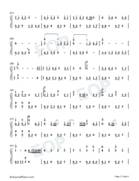 Nine Songs of the Moving Heavens-Perfect Version Numbered Musical Notation Preview 2