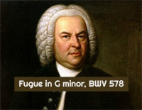 Fugue in G minor BWV 578