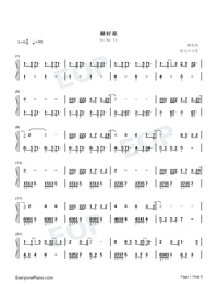 So Be It-JJ Lin-Numbered-Musical-Notation-Preview-1