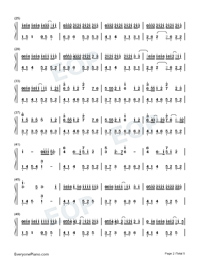 Put The Memories Together For You-Numbered-Musical-Notation-Preview-2