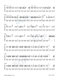 Put The Memories Together For You-Numbered-Musical-Notation-Preview-4