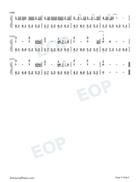 Put The Memories Together For You-Numbered-Musical-Notation-Preview-5