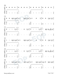 Jerusalema-Master KG ft Nomcebo Numbered Musical Notation Preview 4