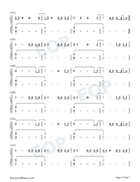 Jerusalema-Master KG ft Nomcebo Numbered Musical Notation Preview 6