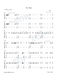 No Idea-Don Toliver-Numbered-Musical-Notation-Preview-1