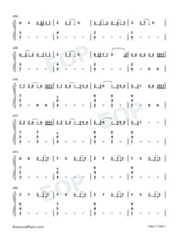 No Idea-Don Toliver-Numbered-Musical-Notation-Preview-2