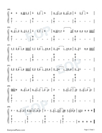 No Idea-Don Toliver-Numbered-Musical-Notation-Preview-3