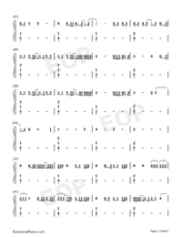 August-Taylor Swift-Numbered-Musical-Notation-Preview-2