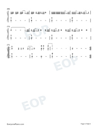 August-Taylor Swift-Numbered-Musical-Notation-Preview-4