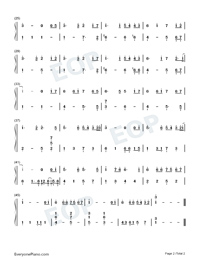 If Hai Has Yin-Easy Version Numbered Musical Notation Preview 2