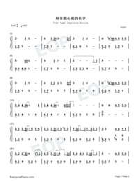 Your Name Engraved Herein-Numbered-Musical-Notation-Preview-1