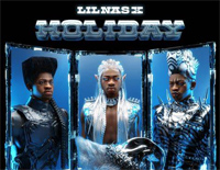 Holiday-Christmas-themed Song-Lil Nas X