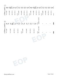 My Head My Heart-Ava Max-Numbered-Musical-Notation-Preview-5