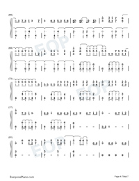 La Di Da-Everglow-Numbered-Musical-Notation-Preview-4