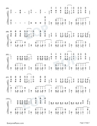 La Di Da-Everglow-Numbered-Musical-Notation-Preview-5