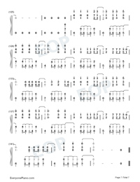 La Di Da-Everglow-Numbered-Musical-Notation-Preview-7