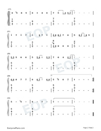 Rockin Around the Christmas Tree-C Major Easy Version-Christmas Song-Numbered-Musical-Notation-Preview-2