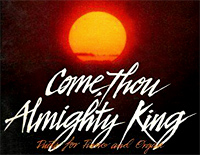 Come Thou Almighty King-Christian Hymn