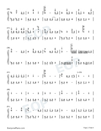Chill-Original Music-Numbered-Musical-Notation-Preview-2