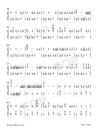 Chill-Original Music-Numbered-Musical-Notation-Preview-3
