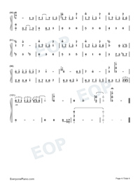 Chill-Original Music-Numbered-Musical-Notation-Preview-4